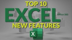 Top 10 Excel New Features