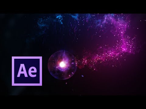 Magic Particle Trail Simulation | After Effects Tutorial