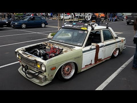 1972 Datsun 510 (Ratsun) Air Ride Drift Car Build Project