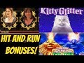 HIT AND RUN BONUSES-KITTY GLITTER-TITANIC-VOLCANIC ROCK FIRE TWIN FEVER