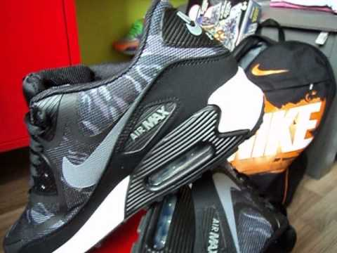 big sale 1c697 78ac4 Nike Air Max 90 Premium TAPE - 2013 (Collection)(Black Cool Grey)(CAMO TAPE  PACK 2013)(Part 46) - YouTube