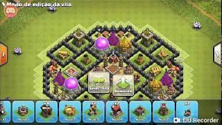 Melhor layout cv8/clash of clans