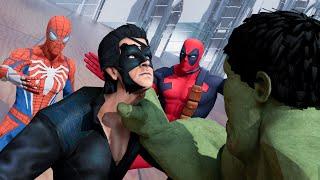 Krrish vs Hulk vs Deadpool vs Spiderman Hollywood vs bollywood fight