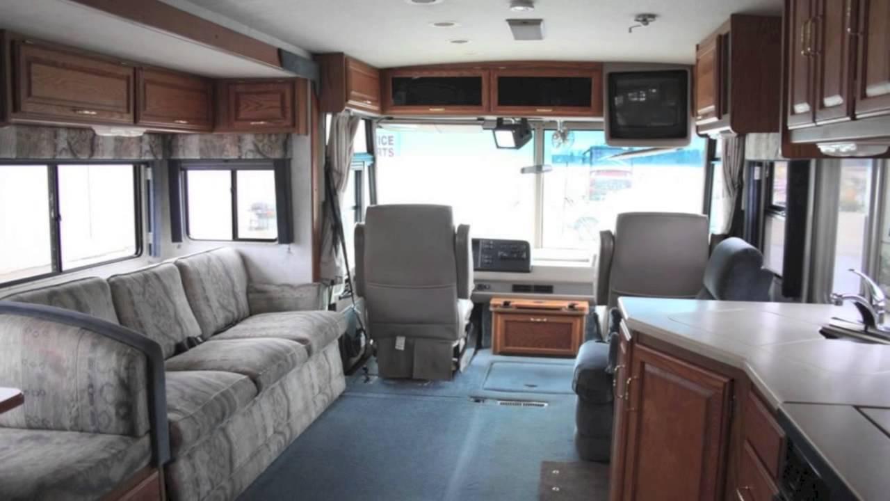Used Motorhomes For Sale >> Used 1999 Winnebago Adventurer 34V Diesel Pusher for Sale in Minnesota - YouTube