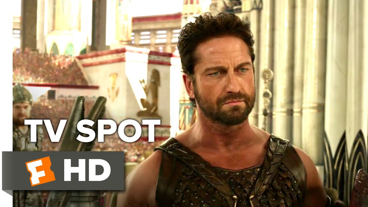 Gods of Egypt TV SPOT - God vs. God (2016) - Nikolaj ... Gerard Butler 2016