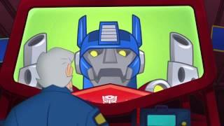 Transformers Rescue Bots All Optimus Prime Appearances (Season 1)