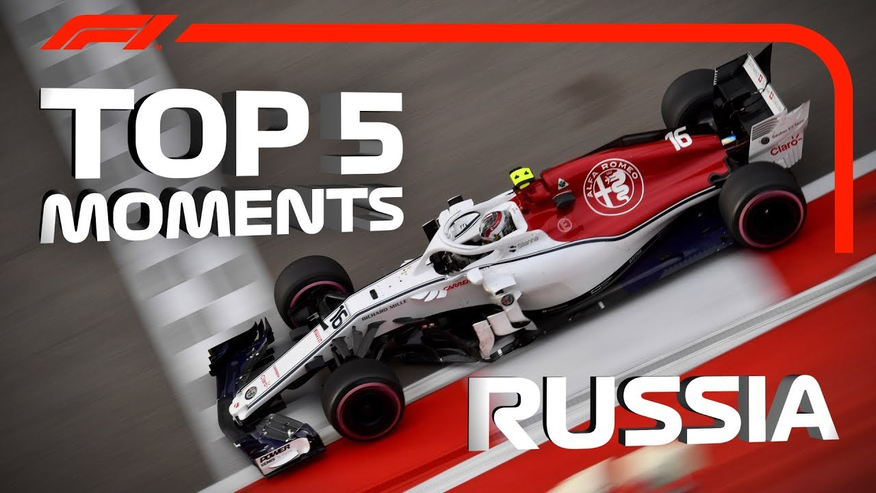 Top 5 Moments | 2018 Russian Grand Prix