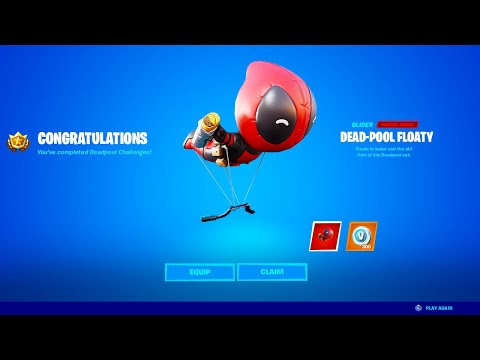 Fortnite Deadpool Week 7 (FREE GLIDER)