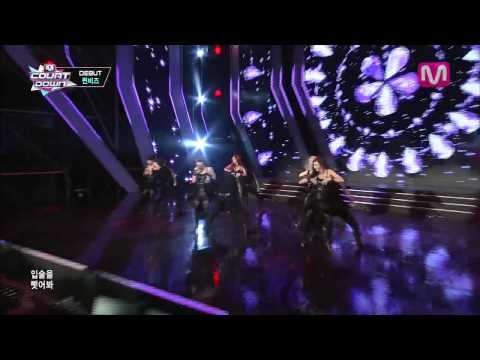 퀸비즈_Bad (Bad By Queen B'Z@Mcountdown 2013.8.8)