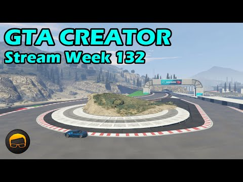 GTA Race Track Showcases (Week 132) [PS4] - GTA 5 Content Creator Live Stream