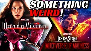 Something Weird About WandaVision & Doctor Strange 2 Release Dates