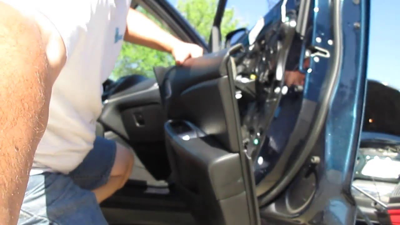 Removing The Front Door Panel On A Dodge Journey Youtube