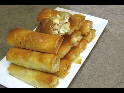 فطائر مملحات مقبلات مورقات شهيوات_وصفات الشيف هند.
