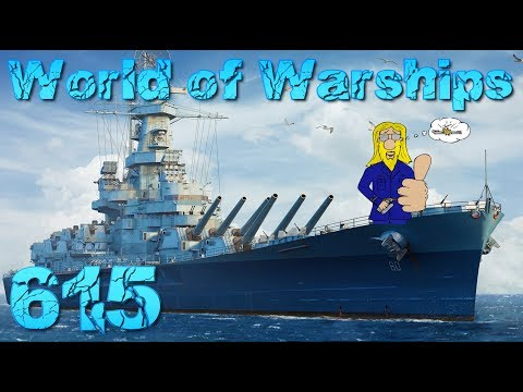 Das Missouri Credits Experiment #615 World of Warships -Game