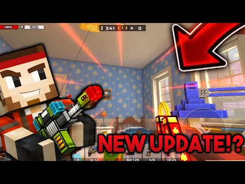 *NEW* Pixel Gun 3D UPDATE 16.4.0! [Wars Of Toys Map, NEW MECHANICS And MANY MORE!]
