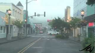 Exploring Oregon - Driving to Cannon Beach Haystack Rock - YouTube