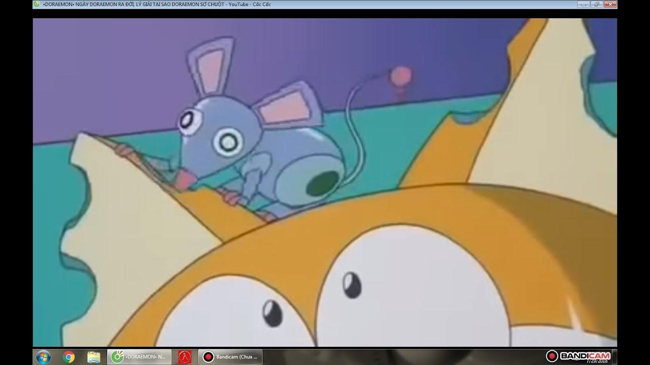 Đây là lý do doremon sợ và ghét chuột