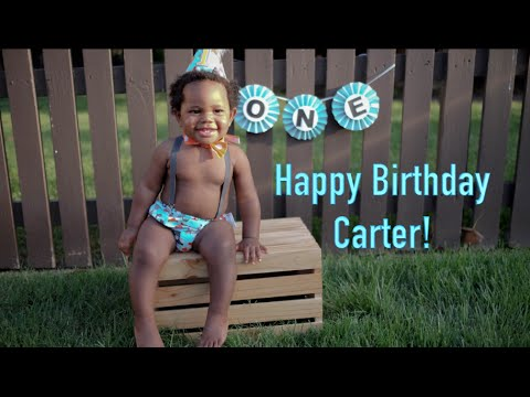 CARTERS 1 YEAR MONTAGE