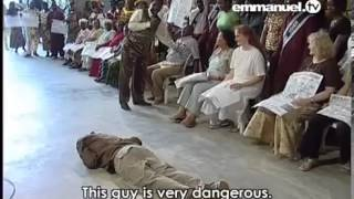 Watch TB Joshua Multiple Demons Cast Out of One Man