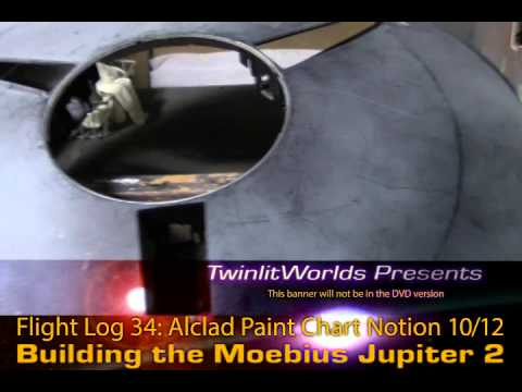 J2 FlightLog 34: Pt10 Alclad Paint Chip Chart Notion