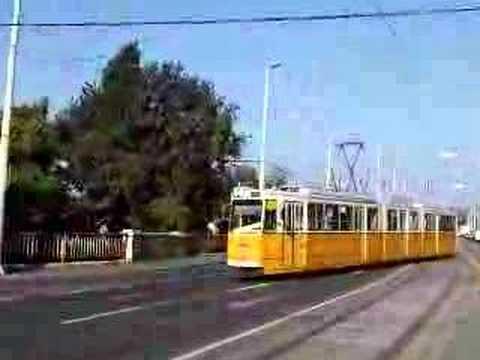 Tram In Budapest - Ganz Villamos Budapesten - Straßenbahn