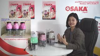 Hướng dẫn cách phân biệt các phiên bản máy xay đa năng Osaka nhật bản (2017, 2018, 2019 new)
