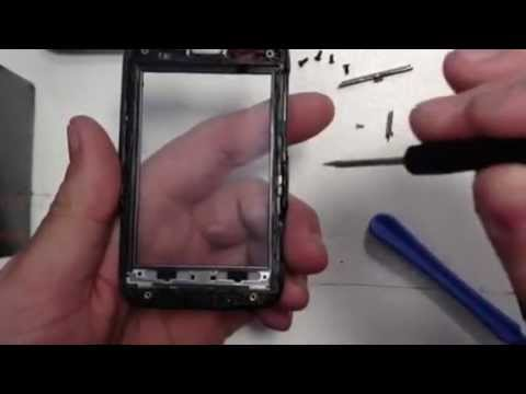 Htc wildfire S disassembly