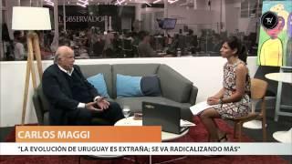 Carlos Maggi está en El Observador TV