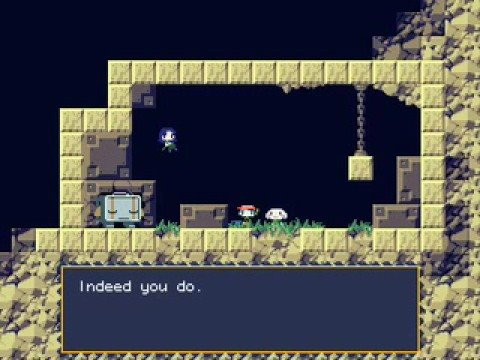lets play cave story ep 2 balrog huzzah youtube