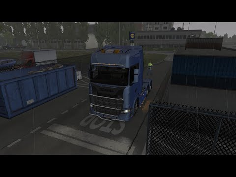 Euro Truck Simulator 2 - Time Lapse - Bringing furniture from Firenze, Italy to Bremen, Germany