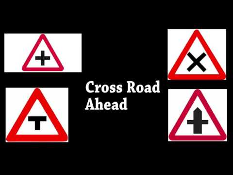 What does these Road Signs mean in India?