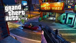 GTA 5 Next Gen - GTA 5 Best First Person Mode Options! Best FPS Customization for GTA 5! (GTA V)