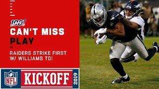 Raiders Strike First w/ Tyrell Williams TD thumbnail