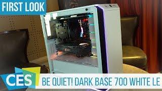 be quiet! Dark Base 700 White Limited Edition Gehäuse First Look (German) #CES2019