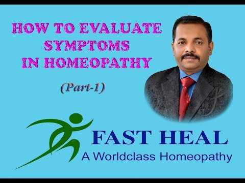 How to evaluate Symptoms in Homeopathy (Part-1)