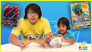 Ryan's Greatest RARE Pokemon Cards Unboxing with Daddy!!!