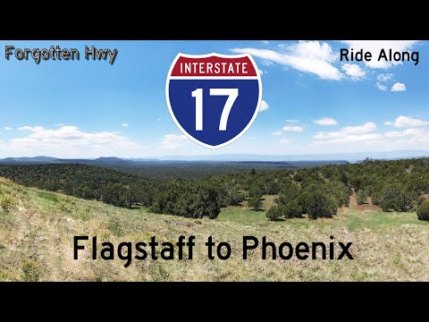 I-17 South - Full Long Distance Ride Along - Flagstaff to Phoenix