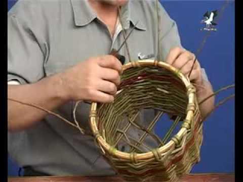 Плетение корзин часть 2
