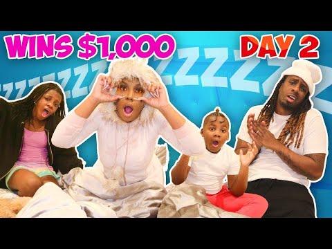 Last To Fall Asleep Wins $1000 Epic Challenge!!!