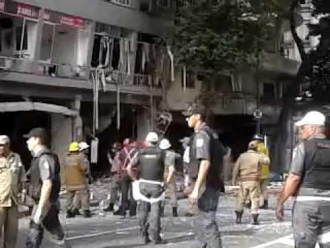 Explosão em Restaurante no Centro do Rio de Janeiro - 13/10/2011