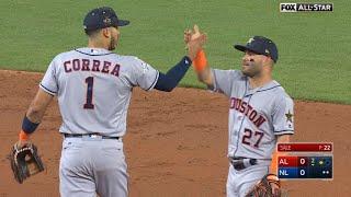 2017 ASG: Altuve, Correa combine to turn 4-6-3 DP