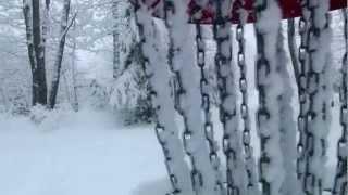 Winter Team Challenge Disc Golf (Dragan Disc Golf, Auburn Maine)