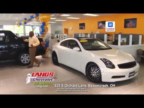 Langs Chevrolet June 2014 Used Car Specials