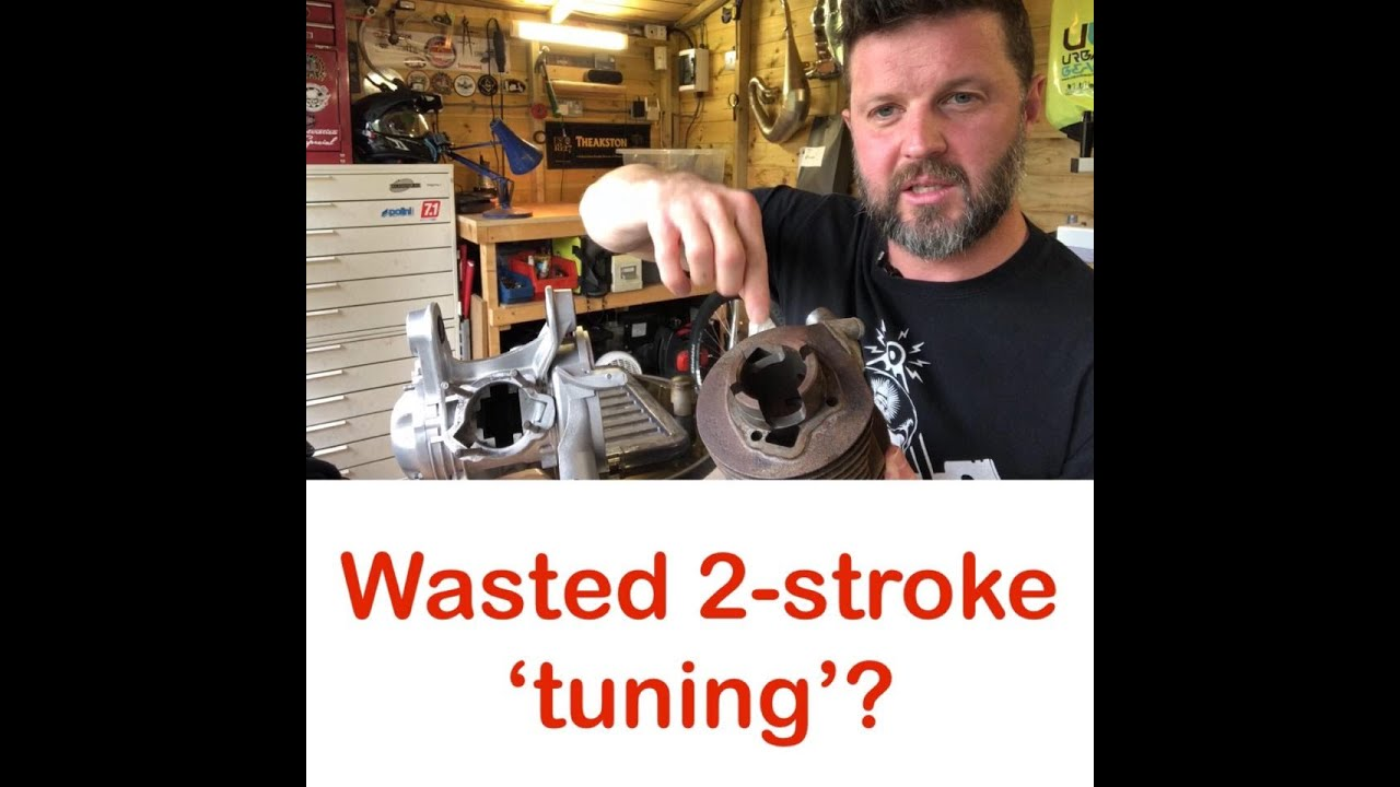 Wasted 2-stroke tuning - Does all 'tuning' work? Lambretta & Vespa Tuning put to the test!