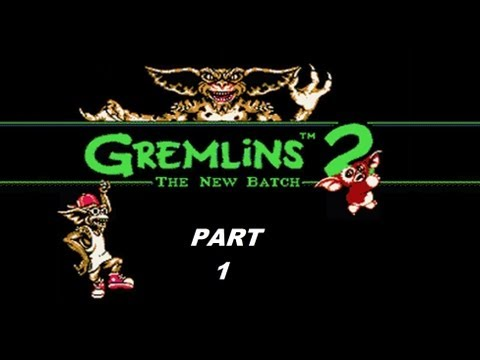 Gremlins 2: The New Batch (NES) Complete Walkthrough (Part 1)