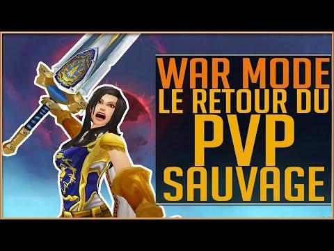 WAR MODE - LE RETOUR DU PVP SAUVAGE
