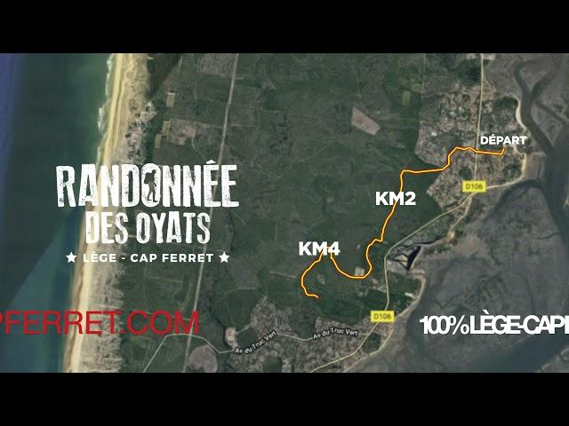Randonnée des Oyats, Semi-marathon de la presqu'île du Cap Ferret