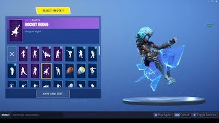 "SKIN ""VALKYRIE"" ""VALKYRIE"" PELLE DI RAGNAROK FEMMINA SHOWCASED CON EMOTES! FORTNITE"