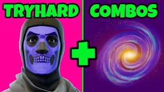 🏆 TOP 10 TRYHARD FORTNITE SKINS COMBOS: BEST TRYHARD FORTNITE COMBOS WITH BEST RARE SKINS