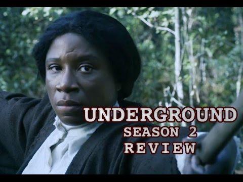 Download Underground Season 2 Review -  Jurnee Smollett-Bell, Aldis Hodge, Jessica De Gouw